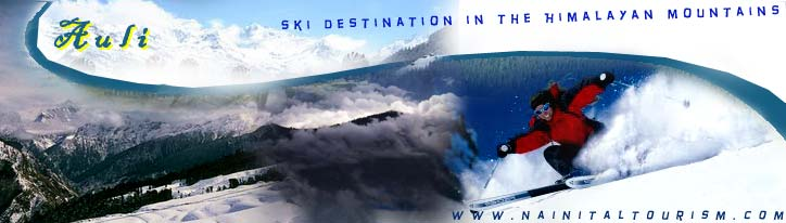 Auli - Ski Destination in the Himalayan Mountains
