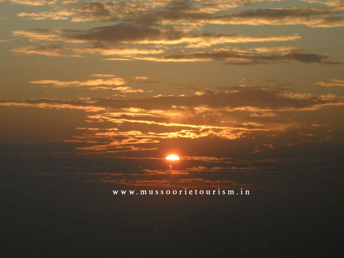 Sunset Mussoorie