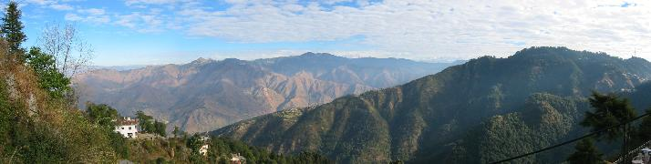 Himalayan Range from Mussoorie